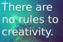 Creativity / Quotes, tips, infographics, & ideas for inspiring & fostering creativity & innovation.