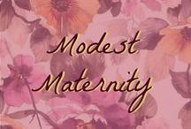 Beauty: Modest Styles for Pregnancy / Fashion during pregnancy. Maternity style!