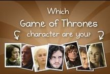 Game of Thrones / GoT/ASOIAF fans, this board is just for you. :)