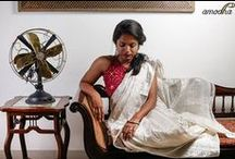 Amodha Sarees / Amodha sarees: Celebrating the magic of the handloom weaves, Amodha showcases its eclectic musings as it adds a hint of contemporary to the traditional. By mother and daughters Asha, Alisha & Rhea https://www.facebook.com/amodhadesigns