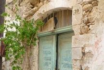 Crete Project / Inspiration board for a full scale renovation project on a listed village house in rural Crete.