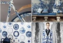 Delftware / All things blue and white -- The distinct, indelible style of Delftware, blue and white Chinoiserie, and Delftware-inspired design, etc. Love at first blue-and-white sight. :) #delftware #blue #white #chinoiserie