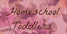 Teacher Tools: Homeschool Toddlers