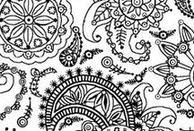 Coloring Book Pages / Coloring is a great way to relax and reconnect with your inner child. :) Plus, it's loads of fun! #coloring #coloringbook