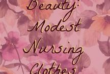 Beauty: Modest Post Partum Styles / Modesty, post baby, good clothes, style