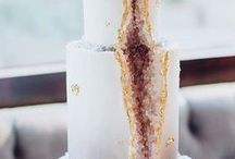 Wedding Cakes / Ditch the traditional and opt for a wedding cake you won't soon forget. wedding cake topper ideas / wedding cake toppers / naked cakes / elegant wedding cakes / mint wedding / mint wedding cake / floral wedding cakes / summer wedding ideas / rustic nearly naked wedding cake / four tiered wedding cake / blush and gold wedding ideas / blush and gold wedding cake / summer wedding cakes / summer wedding ideas / mr and mrs wedding cake topper / chalkboard wedding cake / two toned wedding cake
