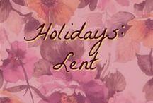 Holidays: Lent