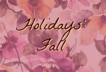 Holidays: Fall