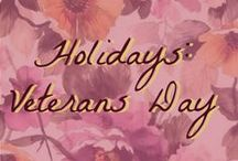 Holidays: Veteran's Day