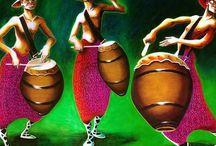 Candombe / Musica latina, llamadas, vestidos de vedette, carnavales