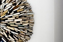 Books / Books worth reading, installations made of books, everything that's book-connected
