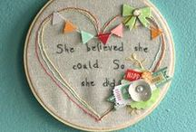 Handcrafts / Simple Sewing and Embroidery Ideas and Projects