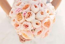 Bouquets / Bridal Bouquets Ideas with roses, peonies, calla lilies, and other florals.