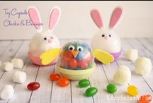 Easy Easter Ideas / Easy Easter ideas for Easter home decor, Easter brunch recipes, and Easter craft ideas.