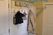 Country Laundry Rooms. / Love my prim laundry room, a few ideas... / by Vicki Cheng of Country Corner