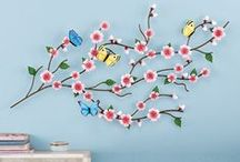 Cherry Blossom / This delicate flower turned decor theme adds a beautiful touch to any home.