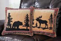 Woodland & Rustic Cabin Decor / Bring the outdoors in with the charming woodland decor. From bears to moose to owls and more, Collections Etc. has incredible nature-inspired decorations for every room in your home.