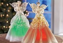 Gifts of Angels / Angels will always be watching your loved ones with the incredible variety of angel gifts and decor. From beautiful garden statues to holiday angels and more, Collections Etc. has many angel items to choose from at an affordable price! / by Collections Etc.