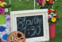 Movie Night Ideas / Great outdoor movie night ideas for the whole family, neighbor block parties and more. Check out all the movie night fun here! / by Bri Marie