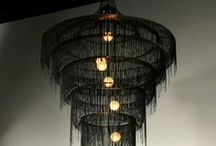 Chandeliers / I know these are not all chandeliers. I love to use terms loosely to include all interpretations. This is is our board let's have fun with it! / by Vanessa Waters