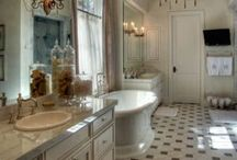 Bathrooms / Interior Design / by Laurie Umphrey