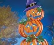 Halloween Decorations / Spook your friends and neighbors with this selection of Halloween decor! Wall art, candles and tabletop decorations make a great addition to your indoor decor, while garden stakes, tree decorations and more make excellent outdoor Halloween decorations!
