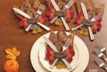 Thanksgiving / Host your Thanksgiving in style with the unique serve ware available through Collections Etc. Wow your guests with the wide variety of Thanksgiving decor available at an affordable price.