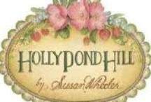 Holly Pond Hill. / The whimsical artwork of Susan Wheeler. / by Vicki Cheng of Country Corner