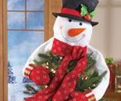 Snowman Decorations / Follow us for the most unique and lovable Snowman Christmas decorations around!  It's no denying how this lovable character's irresistible carrot nose and twinkle of the eye melts our hearts.  We're sure you'll find a couple favorite Snowman decorations you just have to have, but even more you'll love our low prices and quick shipping too!