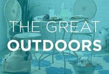 The Great Outdoors / No matter the season, add style to your open-air surroundings.
