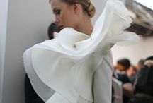 Draping / Draping is my main source of creativity. As a designer, I love to drape as I design because it allows me to be more creative and fearless of creating something new. This board reflects other design work that inspires me to create new silhouettes through draping.  / by G E N E S I S P E Ñ A