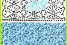 Library of Crochet Stitches / by Aperkkv