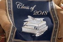 Graduation Gift Ideas / Congratulate recent graduates with this selection of gifts. Help them cherish the memories of the ceremony with one of our picture frames, souvenirs or throw blankets.