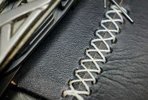 Leather Craft// / Patterns, tips and manuals on how to treat and make things with leather.