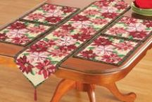 Poinsettias Christmas / This board is all things poinsettia! Add a touch of poinsettias to your holiday decor indoors or out. Collections Etc. has eye-catching poinsettia tabletop decorations, centerpieces, rugs and even wall art!
