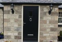 Composite Doors from Kingfisher / Modern, secure and energy efficient, composite doors are stylish and high performing
