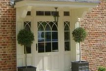 Timber Doors from Kingfisher / Beautifully crafted timber entrance doors, a perfect choice for any property