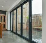 Bi-Folding Doors from Kingfisher / Sleek and elegant bi-folding doors in modern aluminium, uPVC and timber, ideal for any home