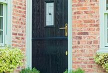 Stable Doors from Kingfisher / Stable doors are the perfect choice for rear entrance doors and utility doors in traditional or country homes