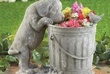 For the Dog Lover! / Share your puppy love with adorable dog figurines and decor!