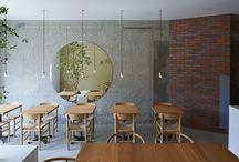 Restaurant. Café. Bar : Restaurant. Kafé. Bar / #restaurant #interiordesign #dining #eat #drink