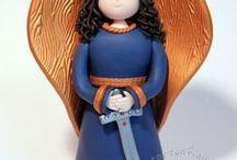Engel, Erzengel, Heilige & Elfen Figuren - Tortenfiguren - Angel