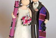 Sport & Hobby Tortenfiguren für die Hochzeit - Hochzeitstortenfigur / Tortenfiguren für die Hochzeit - Hochzeitstortenfiguren