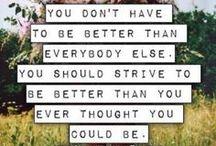 motivation inspiration etc / by Morgan Miller