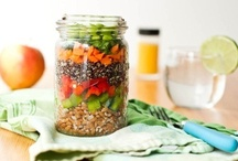 Plant Based In a Jar / Plant based nutrition and meal ideas in a jar.