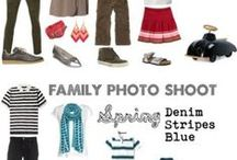 What to Wear - Photography / Wearing clothes that blend for a photo shoot.