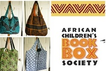 Bags 'n Totes / Sewing project with ideas for a fundraiser for... http://www.africanbookbox.org/