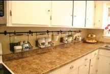 Kitchen  / Kitchen storage and future modern features  / by Jennifer Barger