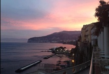 Sunset in Sorrento / This is a collection of sunset's photos taken from our Bellevue Syrene in Sorrento.