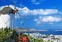 Mykonos Greece / The stunning Greek island of Mykonos is one of the most beautiful and popular in all of Greece, and attracts huge numbers of visitors each year from all over the world. More about Mykonos can be found at www.AroundMykonos.com